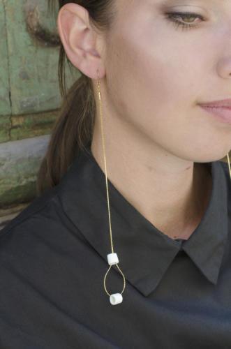 delicata tuorlo-design-studio orecchino-lungo